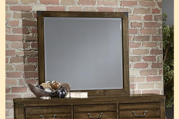 VB Artisan & Post  Sedgwick-Classic Dark Maple Landscape Mirror