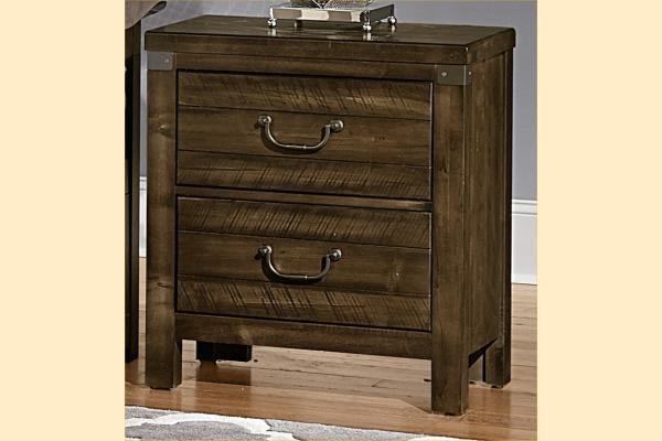 VB Artisan & Post  Sedgwick-Classic Dark Maple Night Stand