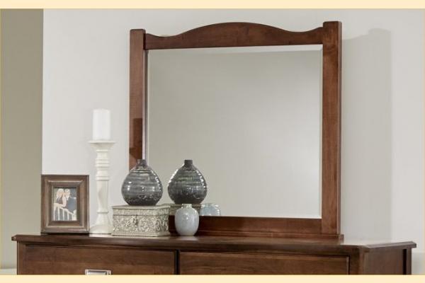 Vaughan Bassett American Maple-Cottage Cherry Landscape Mirror