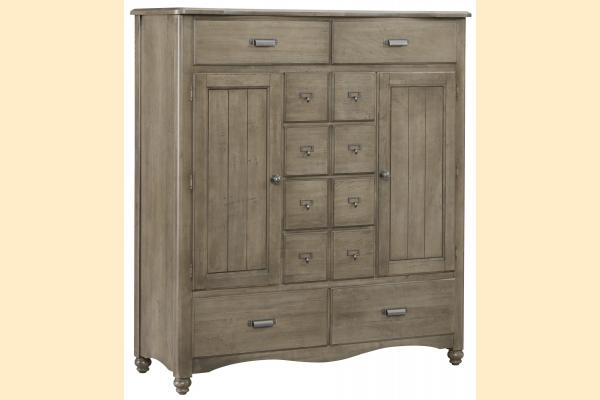 Vaughan Bassett American Maple- Rustic Grey Sweater Chest