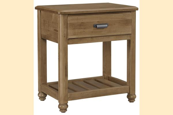 Vaughan Bassett American Maple-Natural Maple Night Table