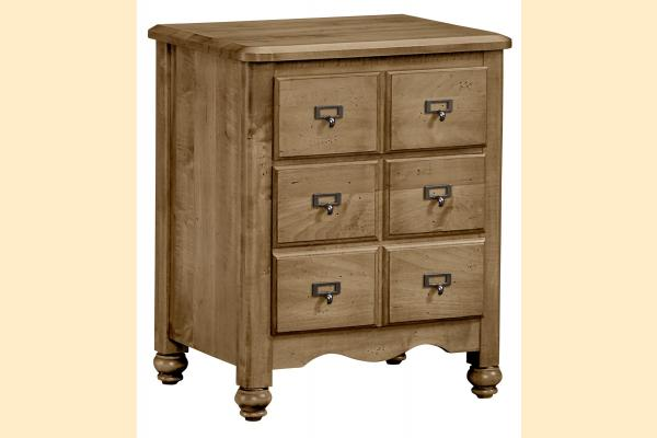 Vaughan Bassett American Maple-Natural Maple Apothecary Night Stand
