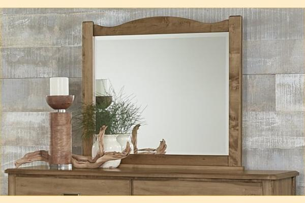 Vaughan Bassett American Maple-Natural Maple Landscape Mirror