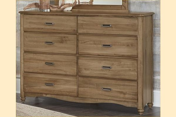 Vaughan Bassett American Maple-Natural Maple 8 Drawer Bureau