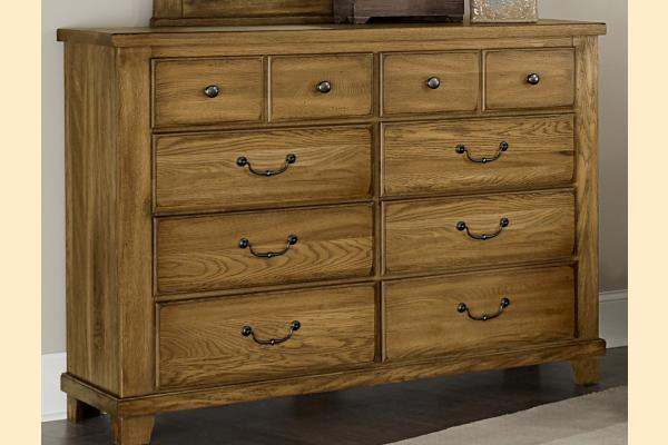 Vaughan Bassett American Oak-Honey Oak Bureau