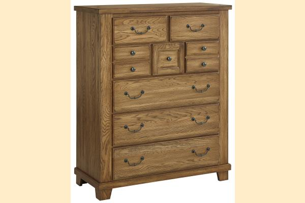 Vaughan Bassett American Oak-Honey Oak Gentlemen's Chest