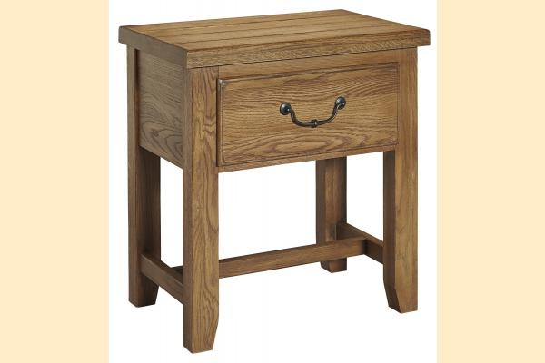 Vaughan Bassett American Oak-Honey Oak Night Table