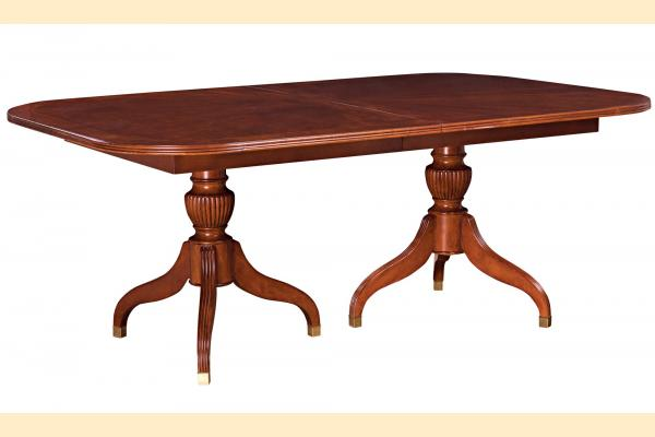 American Drew Cherry Grove Pedestal Table Includes Two 18