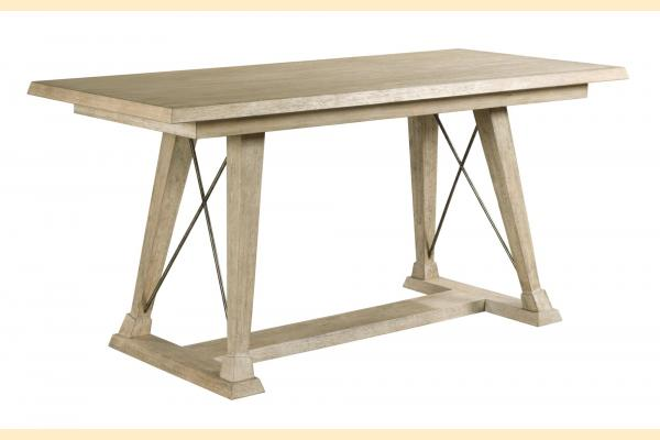 American Drew Vista Clayton Counter Height Trestle Table