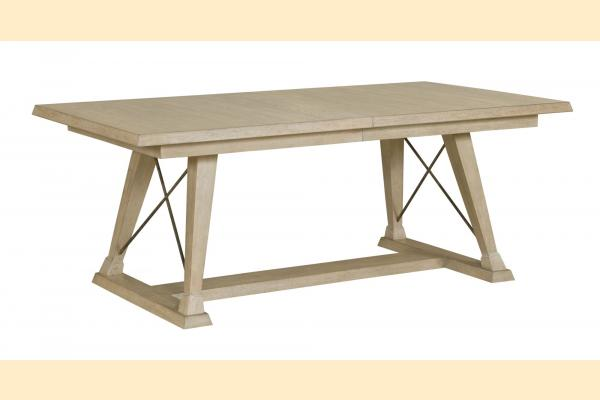 American Drew Vista Clayton Dining Table w/ 2 18 Inch Leaves