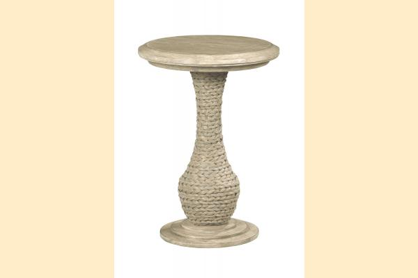 American Drew Vista Biscane Round End Table