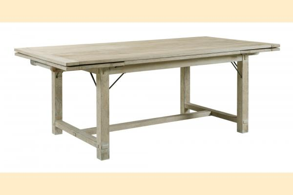 Kincaid Trails Dining Winston Refectory Table W/ Two 18