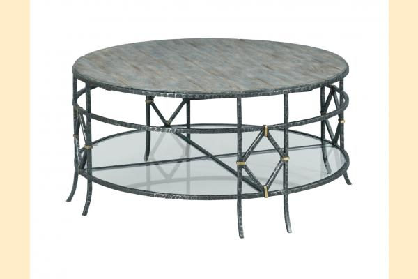 Kincaid Trails Occasional Monterey Round Coffee Table