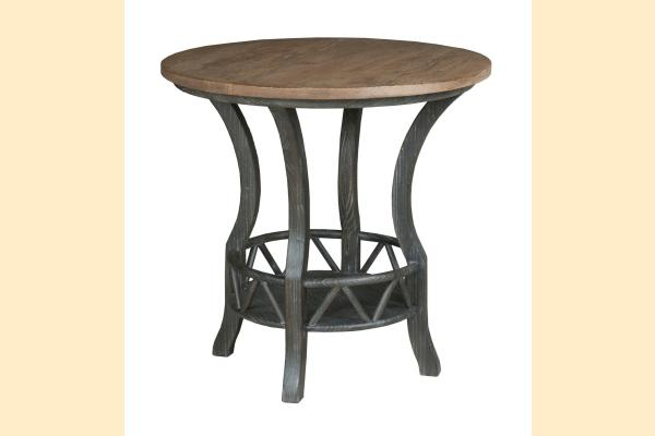 Kincaid Trails Occasional Pisgah Round Lamp Table