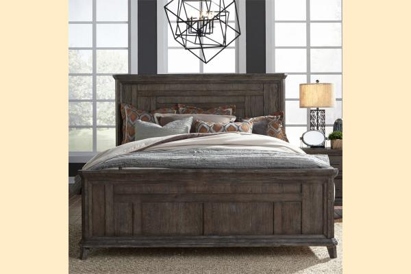 Liberty Artisan Prairie by Liberty King Panel Bed