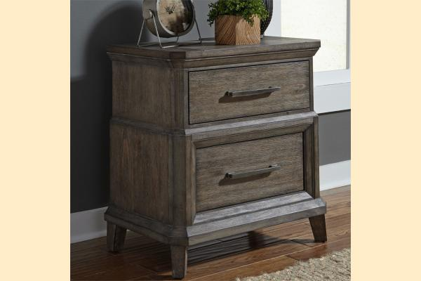 Liberty Artisan Prairie by Liberty Two Drawer Nightstand