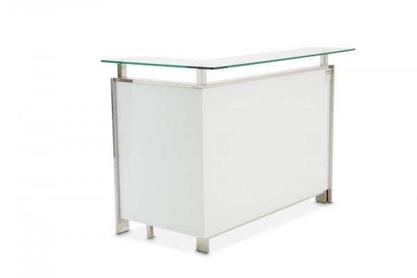Aico State Street Glass Top Bar