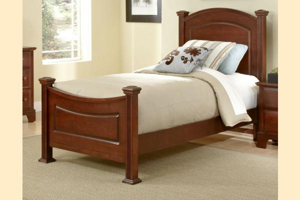 Vaughan Bassett Franklin Twin Panel Bed