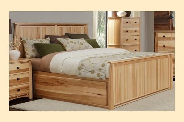 A-America Adamstown King Panel Bed w/ Storage