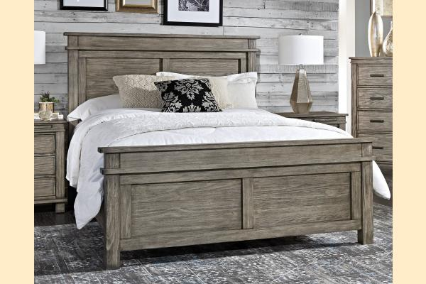 A-America Glacier Point King Panel Bed