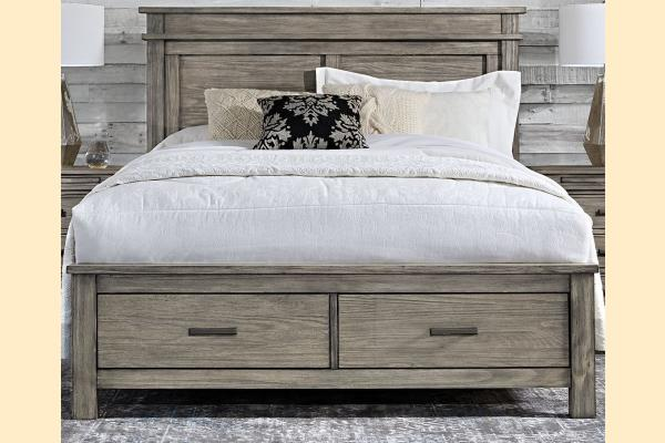 A-America Glacier Point Cal-King Storage Bed