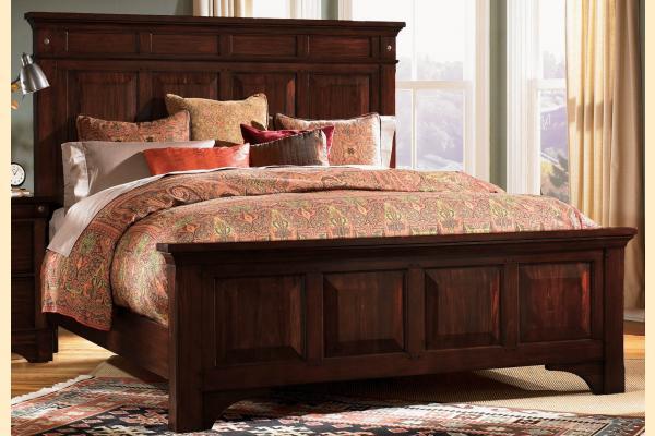 A-America Kalispell Queen Mantel Bed