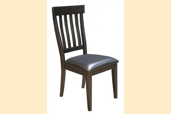 A-America Mariposa-Dark Slat Back Side Chair