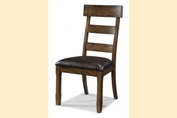 A-America Ozark Plank Upholstered Side Chair