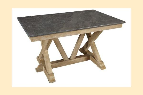 A-America West Valley-Dining Dining Height Trestle Table