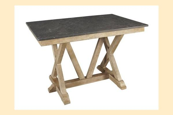 A-America West Valley-Dining Gathering Height Trestle Table