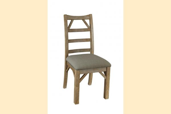 A-America West Valley-Dining Ladderback Upholstered Side Chair