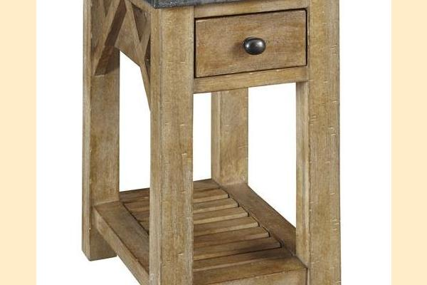 A-America West Valley Bluestone Chairside Table