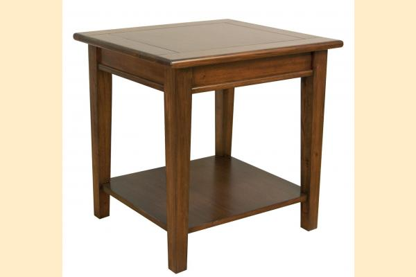 A-America Westlake-Cherry Brown End Table