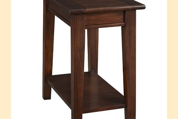 A-America Westlake-Cherry Brown Chairside Table