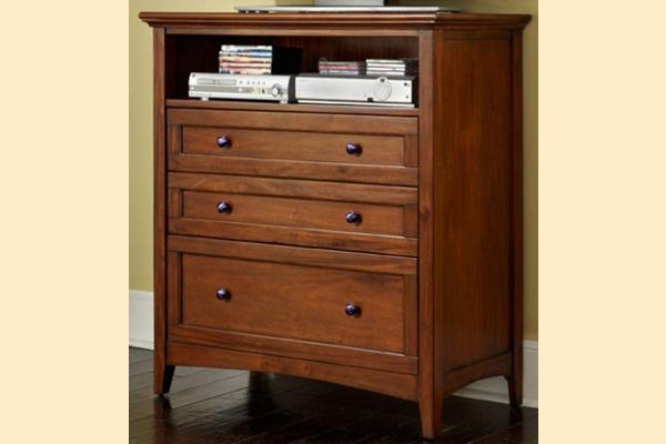 A-America Westlake-Cherry Brown Media Chest