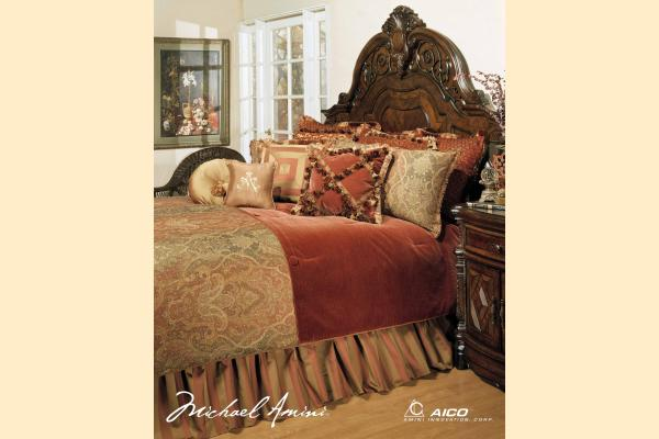 Aico Accessories Woodside Park Woodside Park Queen Comforter Set