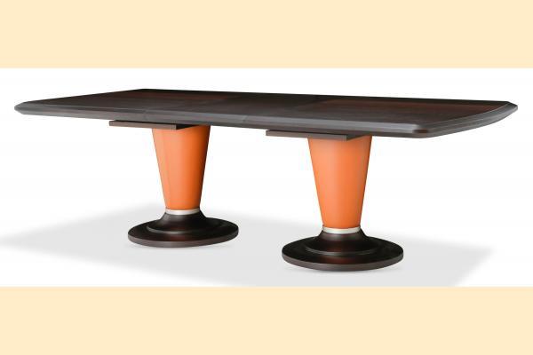 Aico 21 Cosmopolitan Rectangular Dining Table w/ One 24