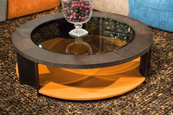 Aico 21 Cosmopolitan Round Cocktail Table