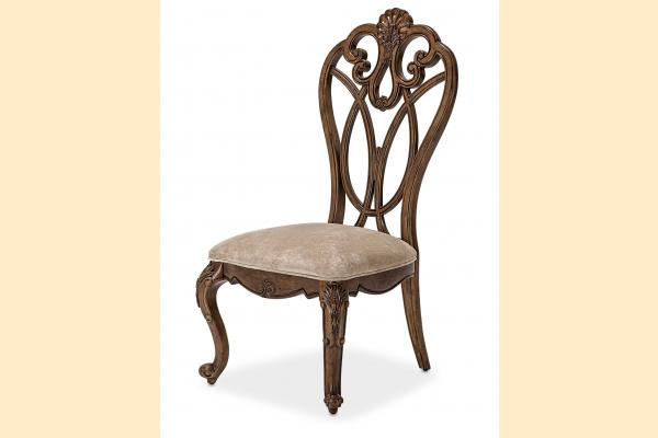 Aico Eden's Paradise Wood Back Side Chair