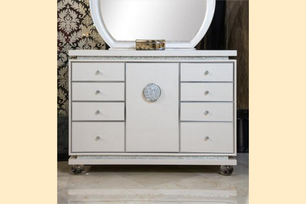 Aico Glimmering Heights Upholstered Dresser
