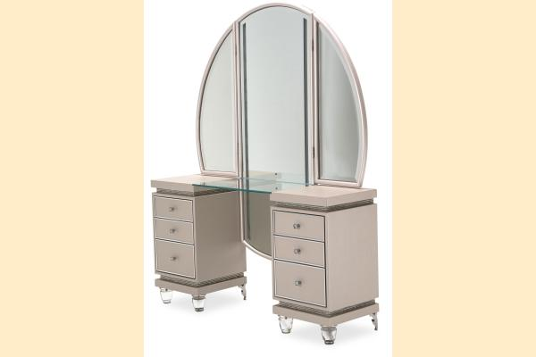 Aico Glimmering Heights Vanity w/ Mirror