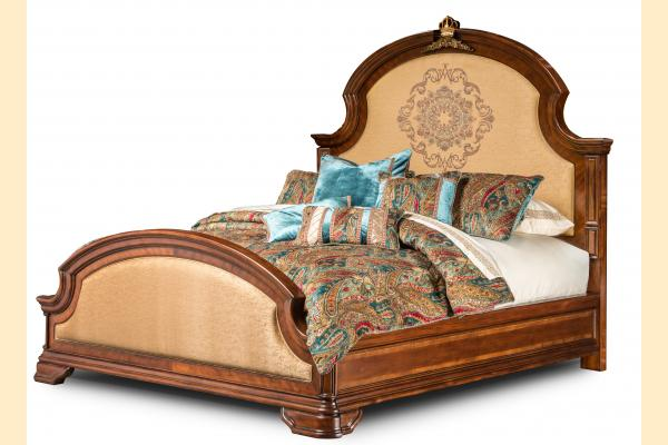 Aico Grand Masterpiece Cal-King Panel Bed