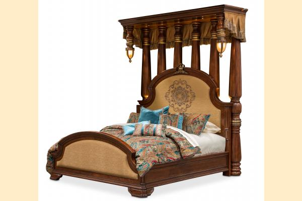 Aico Grand Masterpiece Cal-King Half Tester Bed