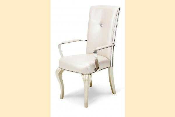 Aico Hollywood Loft Arm Chair-Pearl