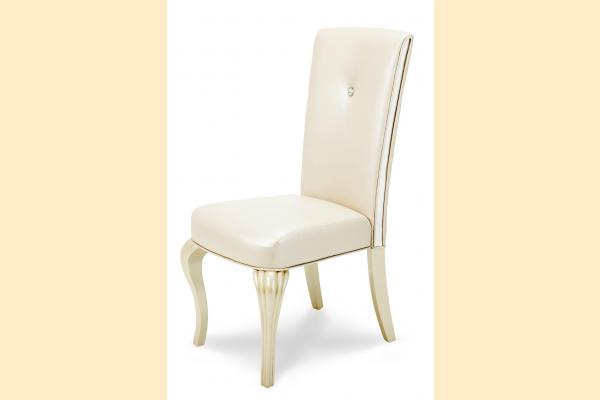 Aico Hollywood Loft Side Chair-Pearl