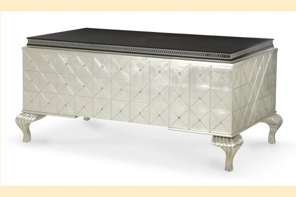 Aico Hollywood Swank Desk-Caviar
