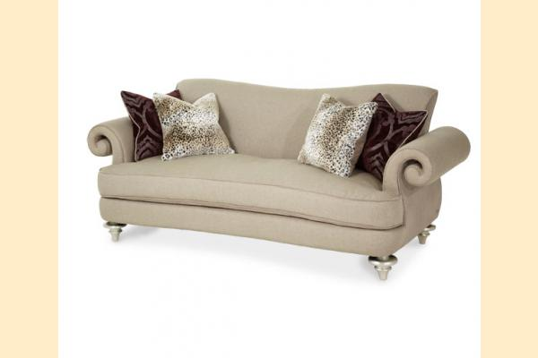 Aico Hollywood Swank Taupe Sofa Grp 1 Opt 2