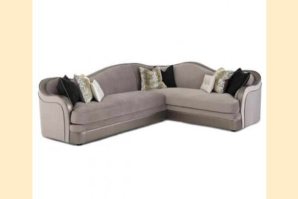 Aico Hollywood Swank Two-Piece Sectional Grp3 Opt1