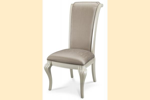 Aico Hollywood Swank Side Chair-Pearl