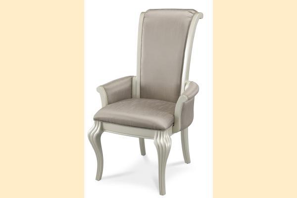 Aico Hollywood Swank Arm Chair-Pearl